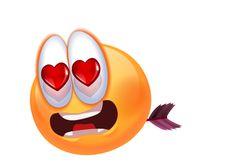"Gros émoticone ""Love"""