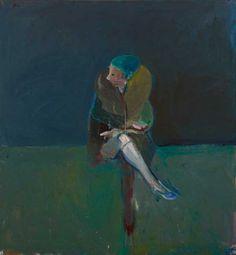 Nathan Oliveira (paintings, plastic arts, visual arts, fine arts)