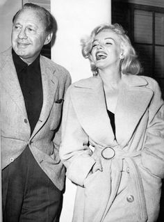 Marilyn Monroe and Jack Benny.