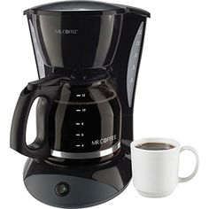 ITEM749171 Mr Coffee 12 Cup Coffeemaker Black With Glass Carafe ** Read more reviews of the product by visiting the link on the image.