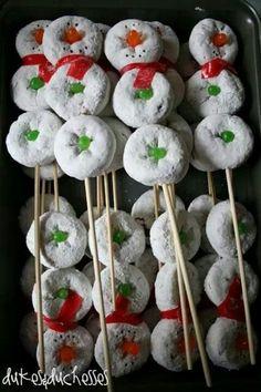 Cute christmas snowmen