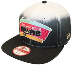 New Era 9Fifty Sublender 950 San Antonio Spurs Black White Snapback >>> Check this awesome product by going to the link at the image.