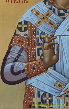 ICXC Religious Icons, Religious Art, Icon Clothing, Creativity Exercises, Best Icons, Byzantine Icons, Painting Process, Orthodox Icons, Sacred Art