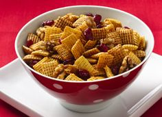 #Chex® #GlutenFree #CranberryNut #Cinnamon #ChexMix #PartyMix #SuperbowlParty #Snacks #Recipe