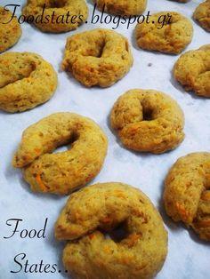 Αλμυρά κουλουράκια με καρότο (νηστίσιμα) - Χρυσές Συνταγές
