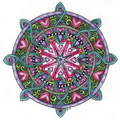 mandalas tattoo color - Buscar con Google