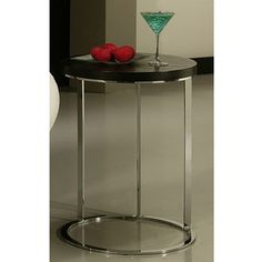 @Overstock - Add a stylish touch to any indoor space with this end table. A chrome finish and glossy black wood highlight this high-quality, durable table. http://www.overstock.com/Home-Garden/Metro-End-Table/7292230/product.html?CID=214117 $187.99