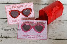 Valentine's Day Sunglass Printable