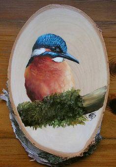 Canvas Painting Projects, Bee Painting, Stone Painting, Painting On Wood, Canvas Art, Wood Pallet Art, Wood Art, Bois Intarsia, Konica Minolta