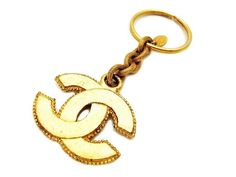 I want one! Authentic Vintage Chanel Key Ring