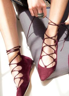 sapatilha lace up