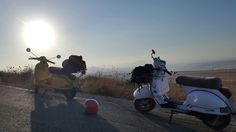 Vespa on The Golan Heights
