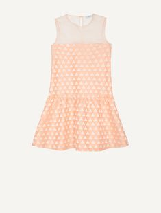 Olivia Palermo in peach geometric print mini dress Max&Co SS 16 campaign ~ I want her style - What celebrities wore and where to buy it. Celebrity Style