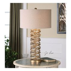 x1 x2 Modern LED Table Lamp Crackle Mirror Effect Tapered Shades /& Bulb Included