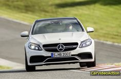 Car Video Action: Sedan Mercedes-Benz C63 AMG 2015
