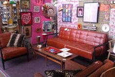 Retro Revolution specializes in vintage, retro and mid century furniture, decor, art and accessories.  We are all about the 1950's, 1960's and 1970's lifestyle.