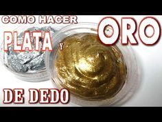 COMO HACER PÁTINA DE DEDO DORADA Y PLATA - HOW TO MAKE GOLD AND SILVER PATINA APPLIED FINGER - YouTube