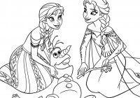 Disegni Da Colorare Principesse Disney Frozen Coloring Pages In