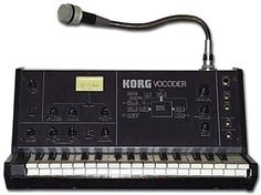 Korg VC-10 Vocoder. This would look so cool next to my MS-20 Mini! This, an MS-10 and the MS sequencer(don´t remember the name of it). I´ll keep dreaming. Korg VC-10 Vocoder