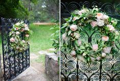 I love these wreaths! These would be perfect for the restroom doors.