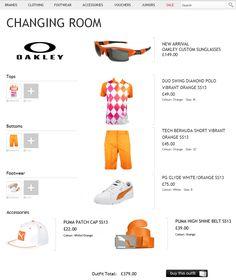 e394e7f448 Outfit of the week featuring Puma golf shorts and Oakley custom sunglasses!  Golf Attire