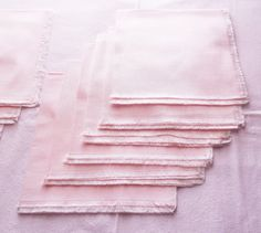 12 Pink Pastel Dinner Napkins, Cotton 16 Inch Napkins, 1 Dozen, Pretty in Pink Table Napkins. Plate not Included.  Delightful. Pastel Pink
