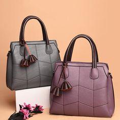 Women High Quality PU Leather Elegant Retro Handbag - Banggood Mobile