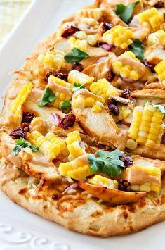 Homemade Honey Chipotle Chicken Pizza