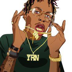 Rich The Kid Type Trap Beat Instrumental Prod By Leroy Brown Beatz On Da Track by Leroy Brown Beatz On Da Track on SoundCloud Dope Cartoon Art, Dope Cartoons, Swag Cartoon, Arte Do Hip Hop, Hip Hop Art, Free Rap Beats, Rap Us, Trap Art, Beat Drop