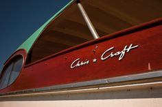 The sea foam green roof! Chris Craft Wooden Boats, Runabout Boat, Classic Wooden Boats, Lakeside Living, Vintage Boats, Old Boats, Gone Fishing, Speed Boats, Old Wood