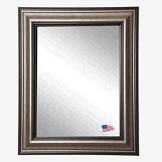 Rayne Mirrors Ava Smoked Silver Wall Mirror & Reviews | Wayfair