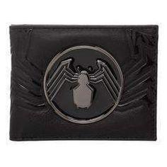 824104469177a Venom Marvel Spider Logo Bi-fold Wallet