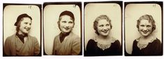 Story of a Young Girl Who Took Beautiful Strips of Self-Portraits From the Booth in Her Town Each Year From the Mid-1930s