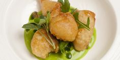 Pete Biggs uses bubbly lager in the batter for his monkfish scampi to create an extra light and crispy finish
