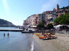 Portovenere nel Liguria, la partenza di una splendida giornata in kayak, periplo dell'isola Palmaria e primo bagno della stagione!!!!