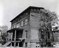 Stevens house, Vernon Boulevard and 30th Road, Astoria, Queens.