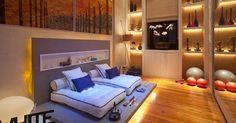 Ambientes das diferentes edições da Casa Cor em 2012 - BOL Fotos