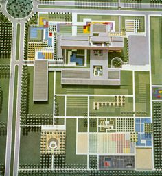 A few from the amazing Roberto Burle Marx, modernist Brazilian landscape artist in late 50s/early 60s. (2 of 5)