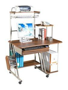 Компьютерный стол ST–D300LCD - 5 690 руб  http://gdemebelkupit.ru/pismennye-stoly/3621-kompyuternyj-stol-std300lcd.html  Размеры:длина — 113 см, ширина — 70 см, высота — 141 смМатериал: металл, МДФЦвет: орехПроизводитель: Tetchair, Китай