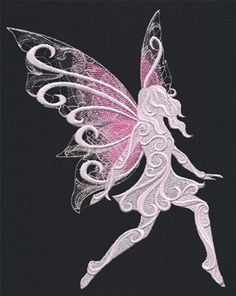 Baroque Fae | Urban Threads: Unique and Awesome Embroidery Designs