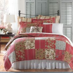B. Smith Diantha Quilt Collection, 100% Cotton - BedBathandBeyond.com
