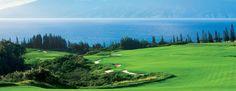 Maui, Hawaii. Kapalua's Plantation Golf Course, home to the 2013 PGA TOUR's season-opening event, the Hyundai Tournament of Champions.