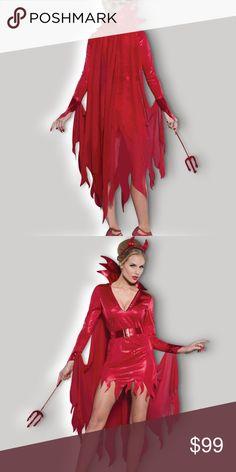 Black Sequin Wand Angel Devil #Fancy Dress Accessory