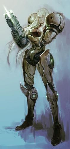 Metroid - Samus Aran #Metroid #Samus
