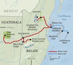 Belize: Reefs, Rain Forests & Ruins