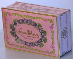 Vintage Louis Sherry chocolate tin