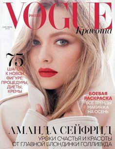 Аманда Сейфрид в Vogue Russia (Интернет-журнал ETODAY)