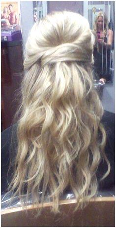 Wedding Hairstyles Half Up Half Down : Half Up Half Down Hairstyles For Wedding Guest