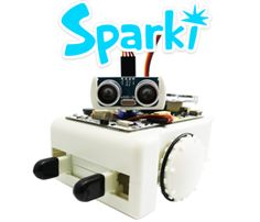 ArcBotics - Testing Sparki with the Remote