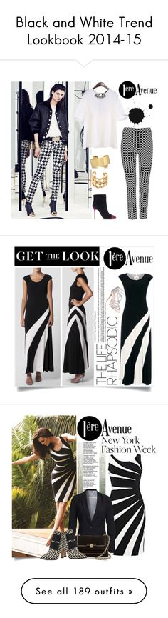 """""""Black and White Trend Lookbook 2014-15"""" by yours-styling-best-friend ❤ liked on Polyvore featuring dress, LoveIt, blackandwhite, Balmain, Sergio Rossi, Isabel Marant, Chanel, Joseph Ribkoff, Carvela and Vero Moda"""